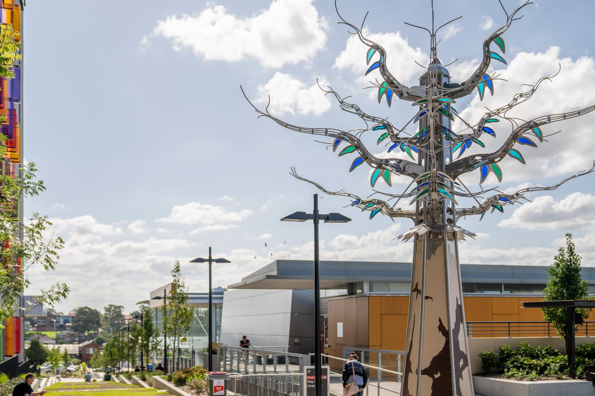 Djalgala Yarra - kinetic sculpture